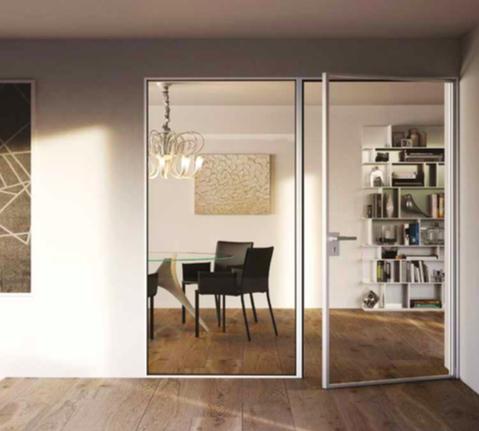 toutes les portes quelles soient ou pivotantes sont dpourvues de rail ou de seuil au sol with. Black Bedroom Furniture Sets. Home Design Ideas