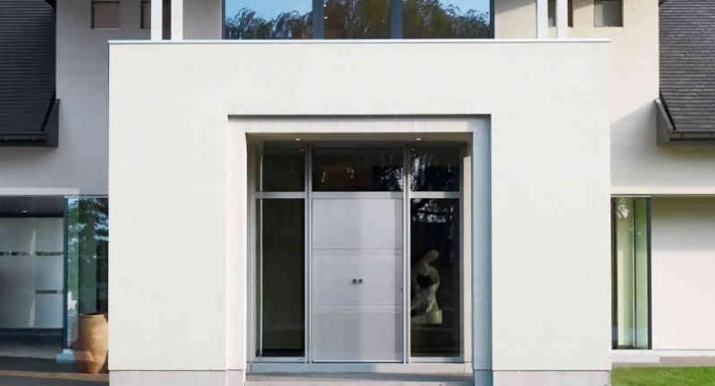 porte d 39 entr e s curis e vitr e pleine pointalver. Black Bedroom Furniture Sets. Home Design Ideas